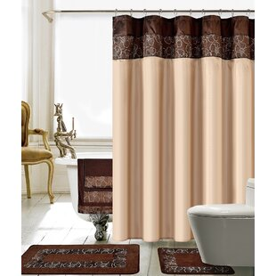 Shower Curtain And Towel Sets