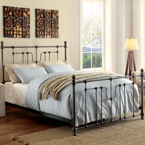 Contemporary Poster Bed spindle poster bed | wayfair