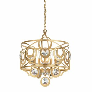 Gwynn 5-Light Drum Chandelier