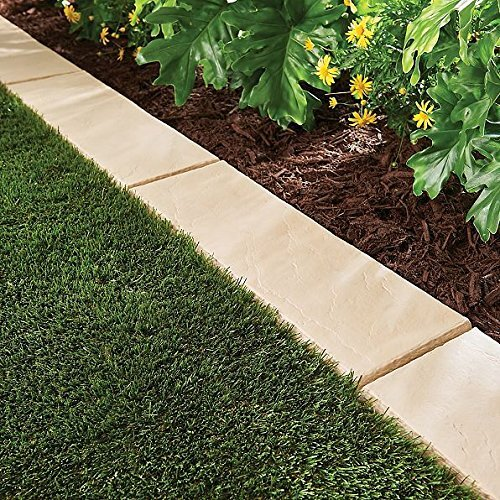 emsco group trimfree lawn border paver in sandstone wayfair