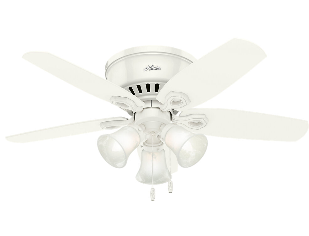 42 Builder Low Profile 5 Blade Ceiling Fan Light Kit Included