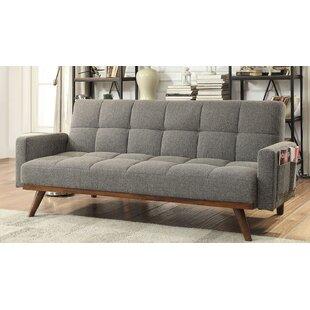 Hawkinsville Tufted Futon Arm Sofa