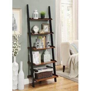 Reclaimed Wood Ladder Bookcase