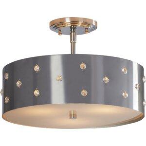 Imogen 3-Light Semi Flush Mount