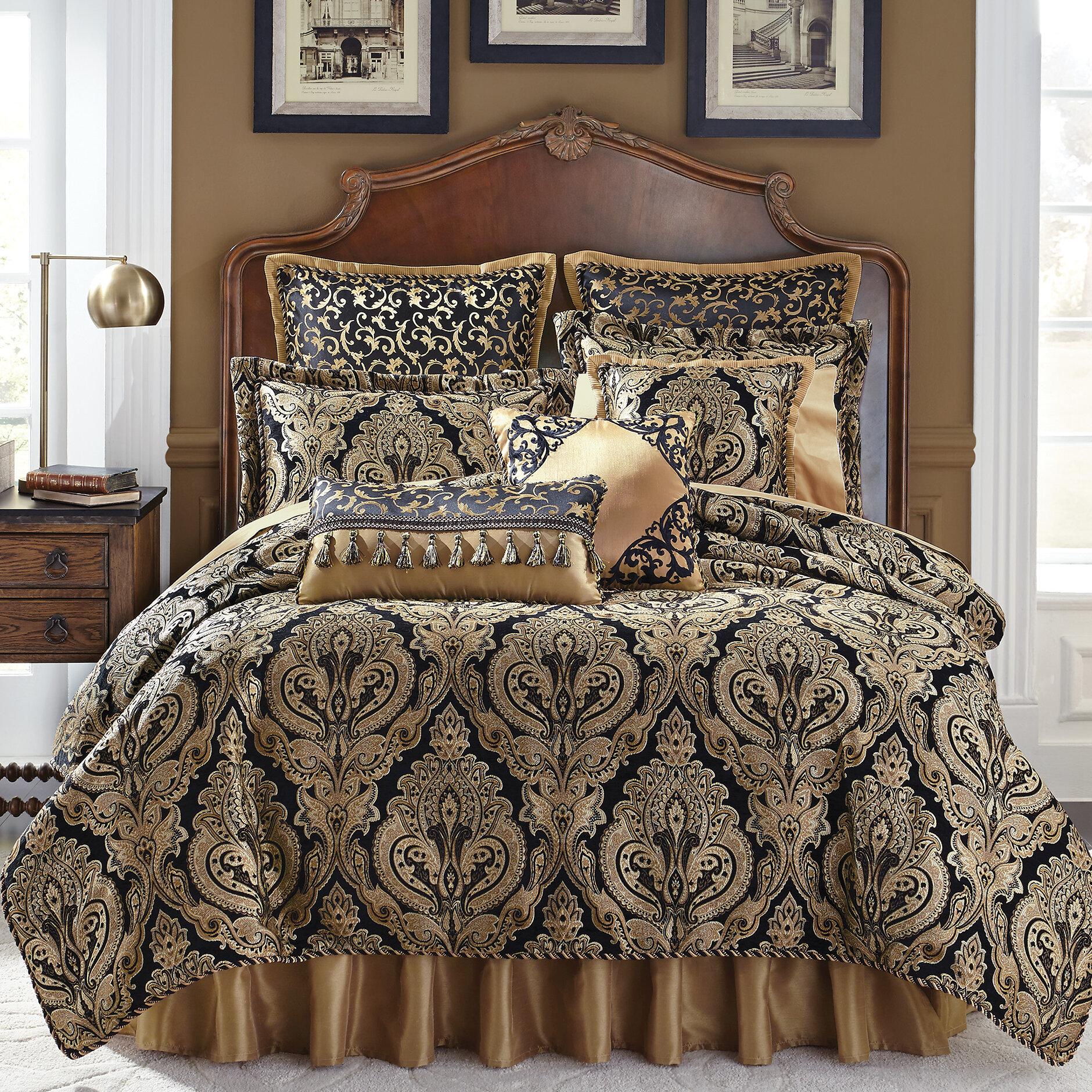 Croscill Pennington 4 Piece Reversible Comforter Set & Reviews | Wayfair