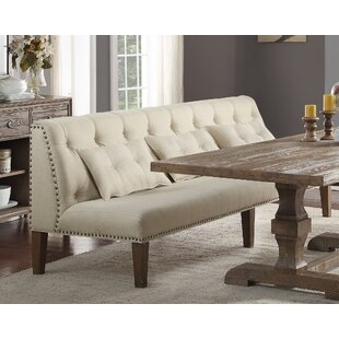 Tufted Wingback Dining Bench Wayfair