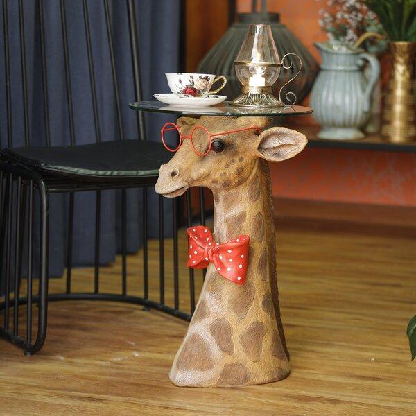 Giraffe End Tables | Wayfair