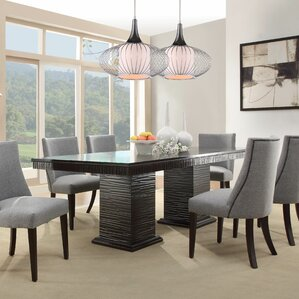 Dining Room Table Extendable modern kitchen + dining tables | allmodern