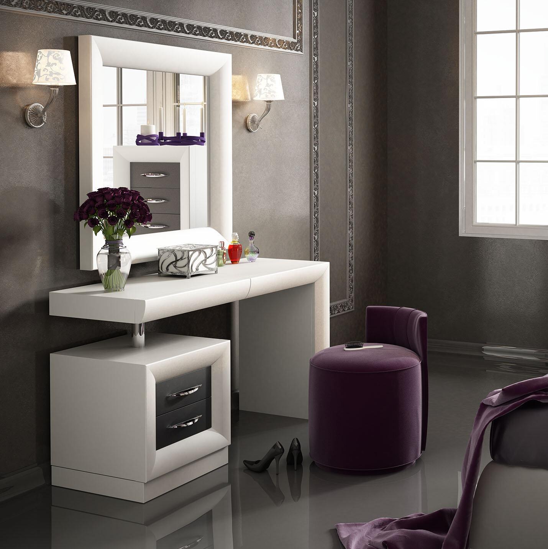 Attrayant Wayfair   Everly Quinn Kirkwood Bedroom Makeup Vanity Set With Mirror