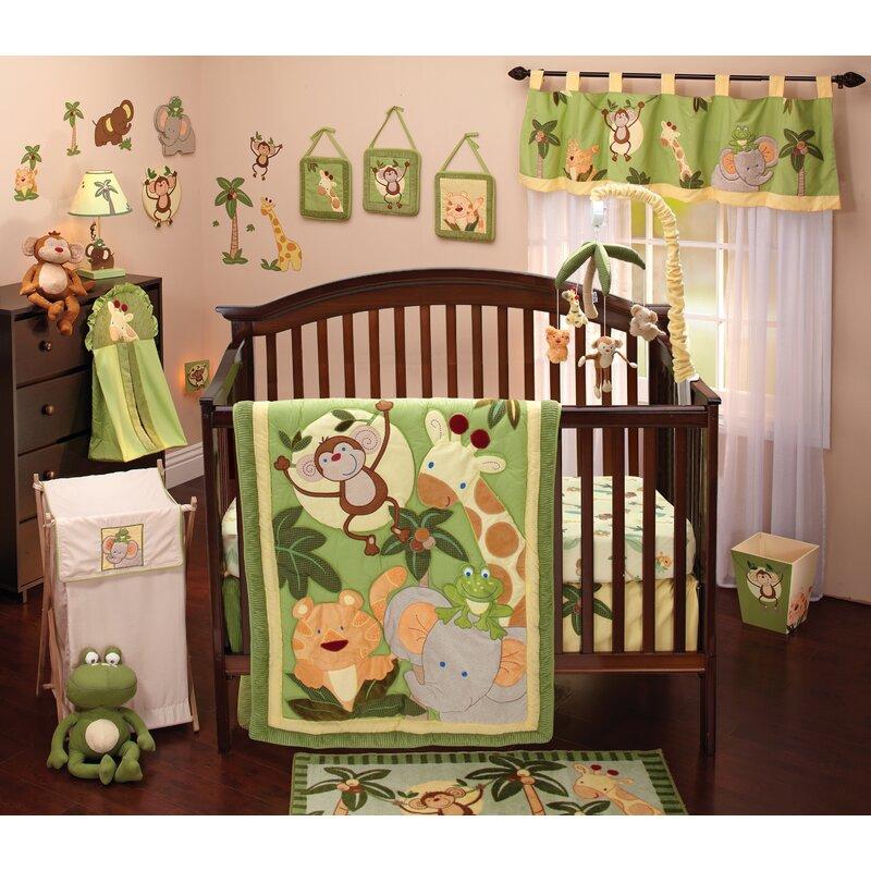 Vikenti 8 Piece Crib Bedding Set