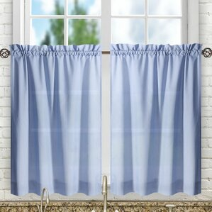 casarina tailored tier curtain - Tier Curtains