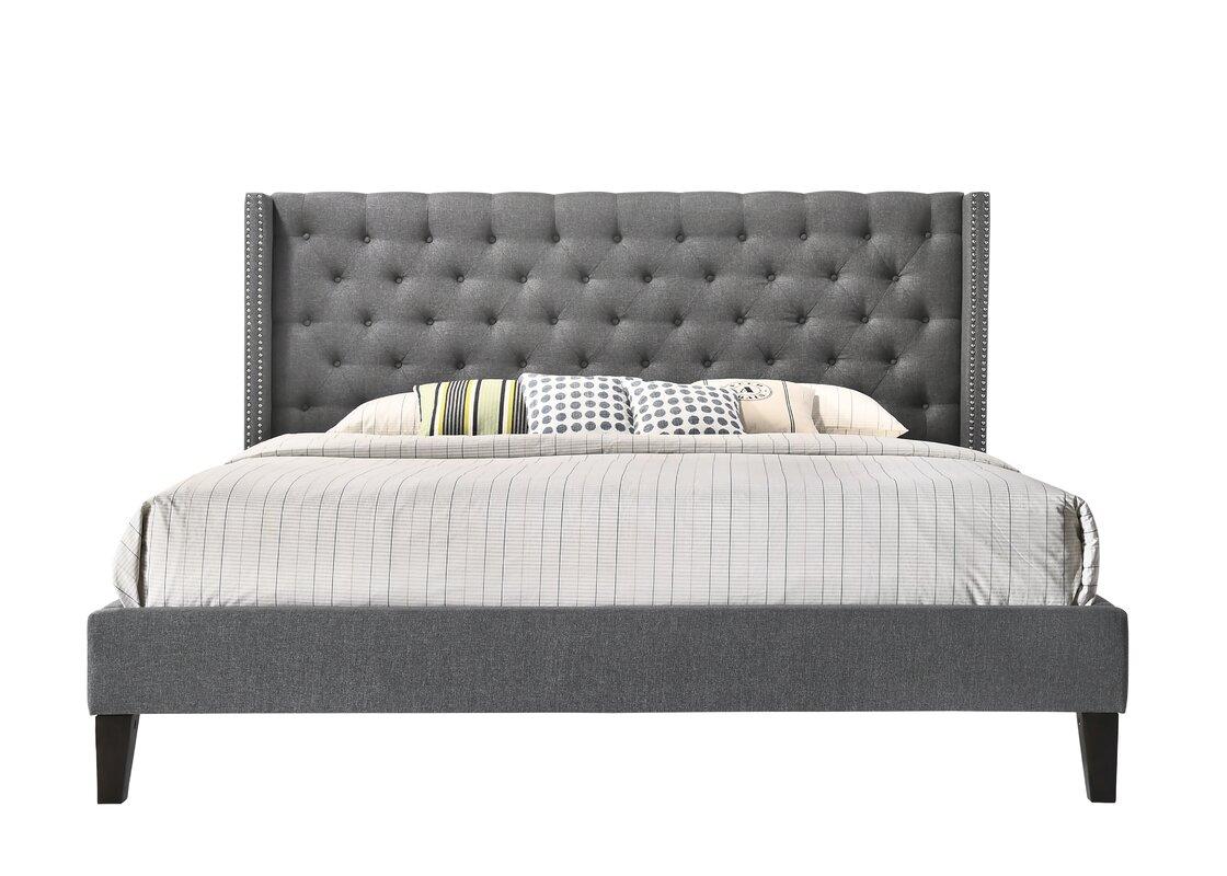Darby Home Co Kathrine Upholstered Platform Bed & Reviews