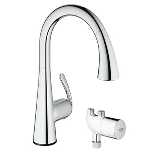 Grohe LadyLux3 Touchless Single Handle Single Hole Kitchen Faucet with Grohtherm Micro
