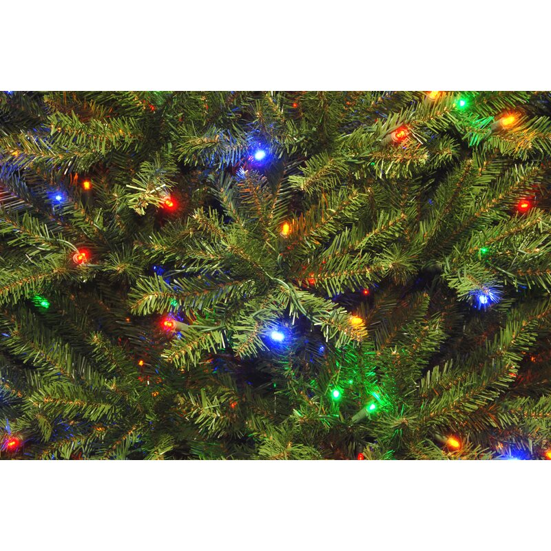fir 75 green artificial christmas tree with 750 led lights