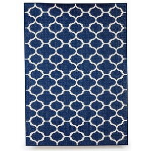 Winchester Royal Blue Indoor/Outdoor Area Rug
