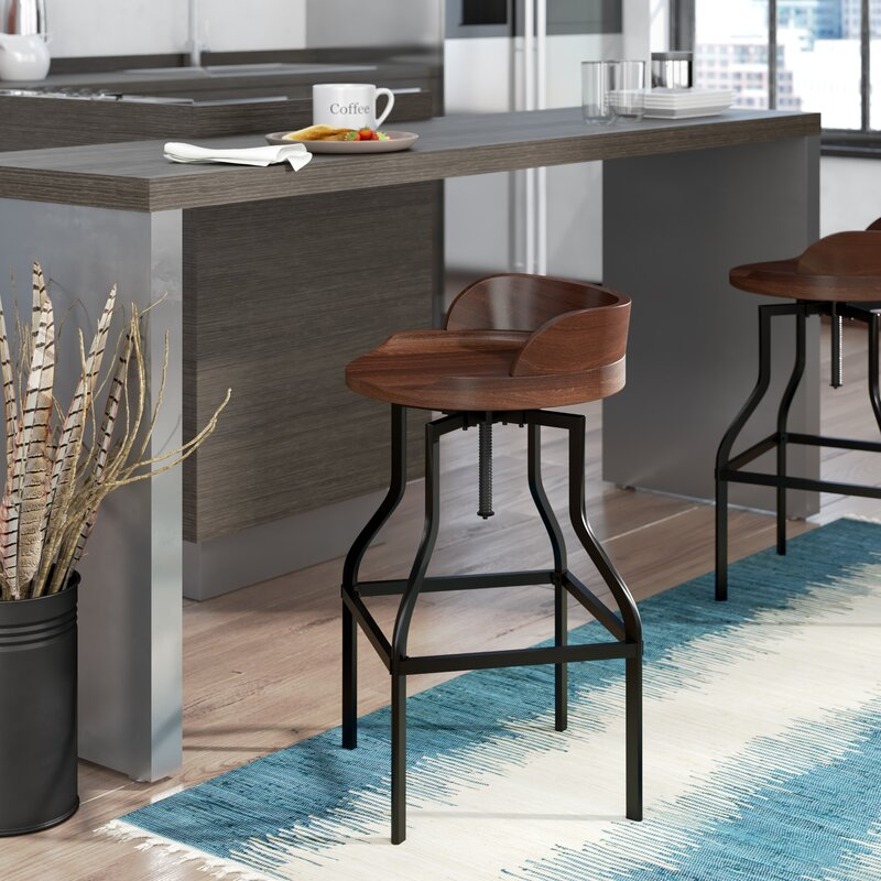 Trent Austin Design Essonnes Adjustable Height Swivel Bar