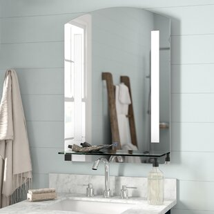 Superbe Wall Mounted LED Illuminated Bathroom Mirror
