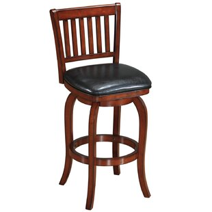Coster Backed 29 Swivel Bar Stool