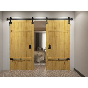 Star Standard Double Track Barn Door Hardware Kit
