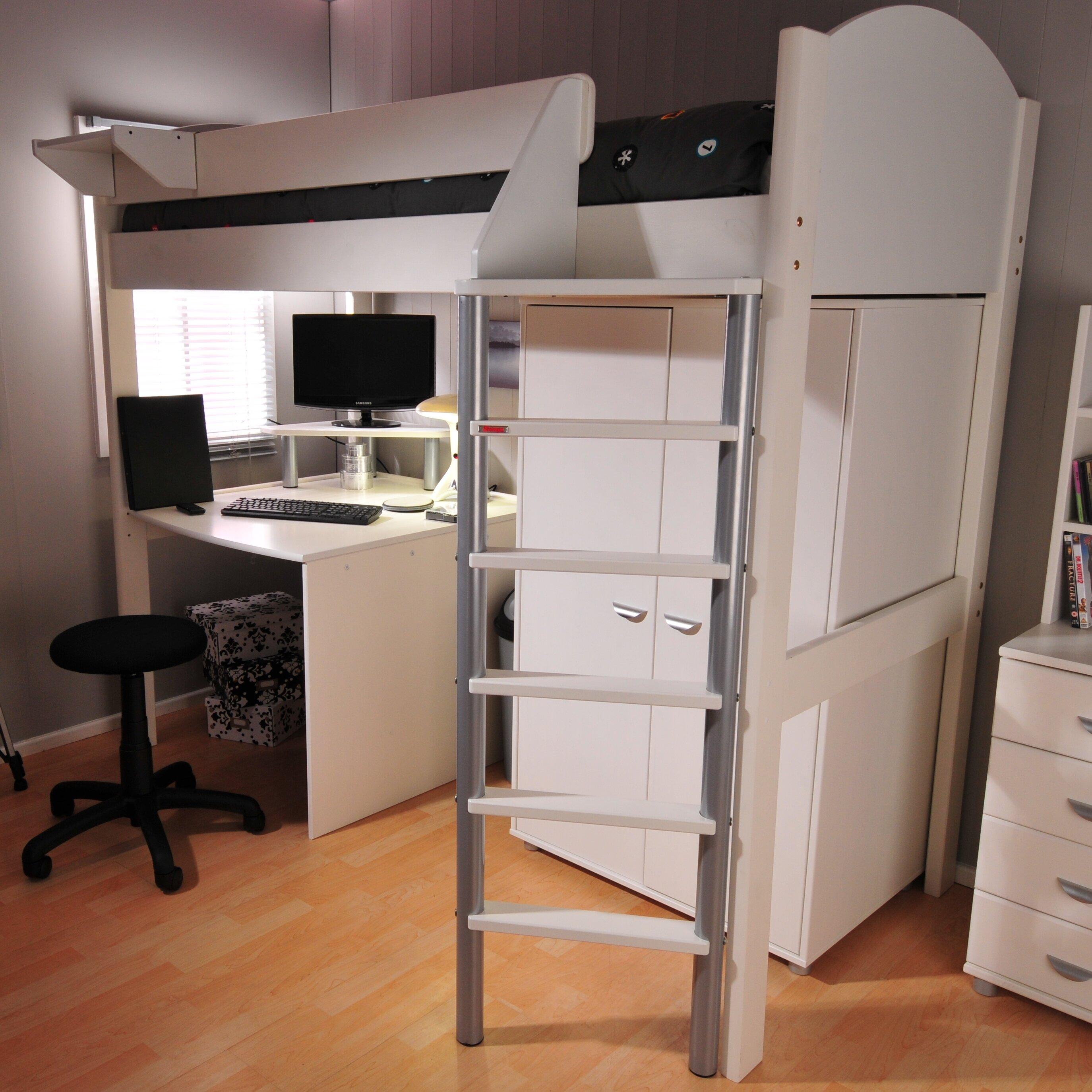 e1f957183c8d Stompa Casa European Single High Sleeper Bed with Storage | Wayfair.co.uk