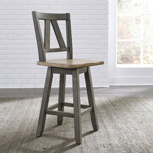 Kruger 24 Swivel Bar Stool (Set of 2)
