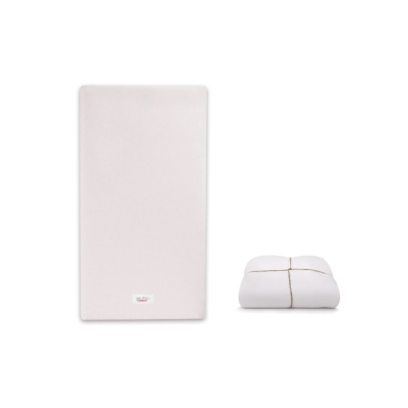 Smart Cover Reviews >> Babyletto Pure Core 5 Non Toxic Crib Mattress With Smart Cover