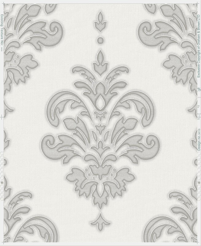 Lark Manor Penniman 33 x 20 Damask Wallpaper Roll Reviews