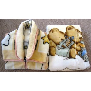 Julianna Baby Snuggle and Baby Blanket Set 2 Pieces