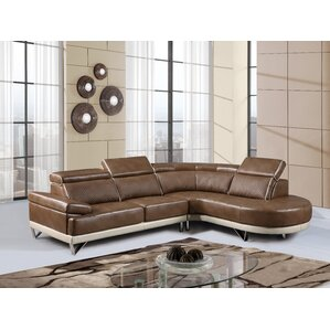 Brissette Reclining Sectional by Wade Logan