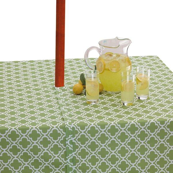 Design Imports Lattice Umbrella Tablecloth U0026 Reviews   Wayfair