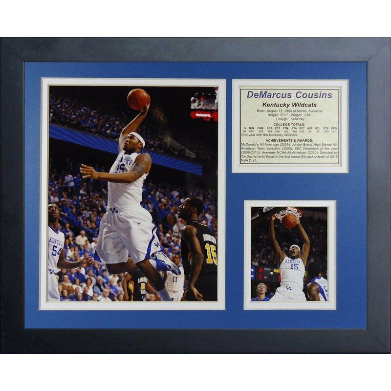 08273c399 Legends Never Die DeMarcus Cousins - Kentucky Wildcats Framed ...