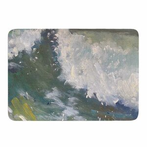 The Crest by Carol Schiff Memory Foam Bath Mat