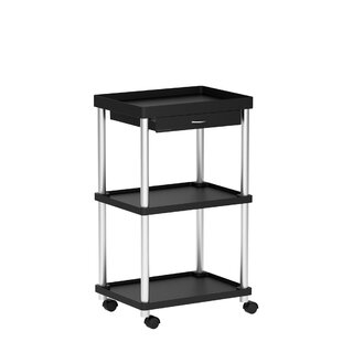 Mind Reader 'Valet' 3 Tier Rolling Bar Cart