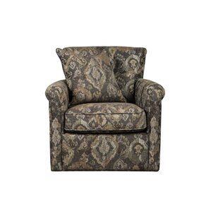 Dedra Swivel Armchair by Darby Home Co