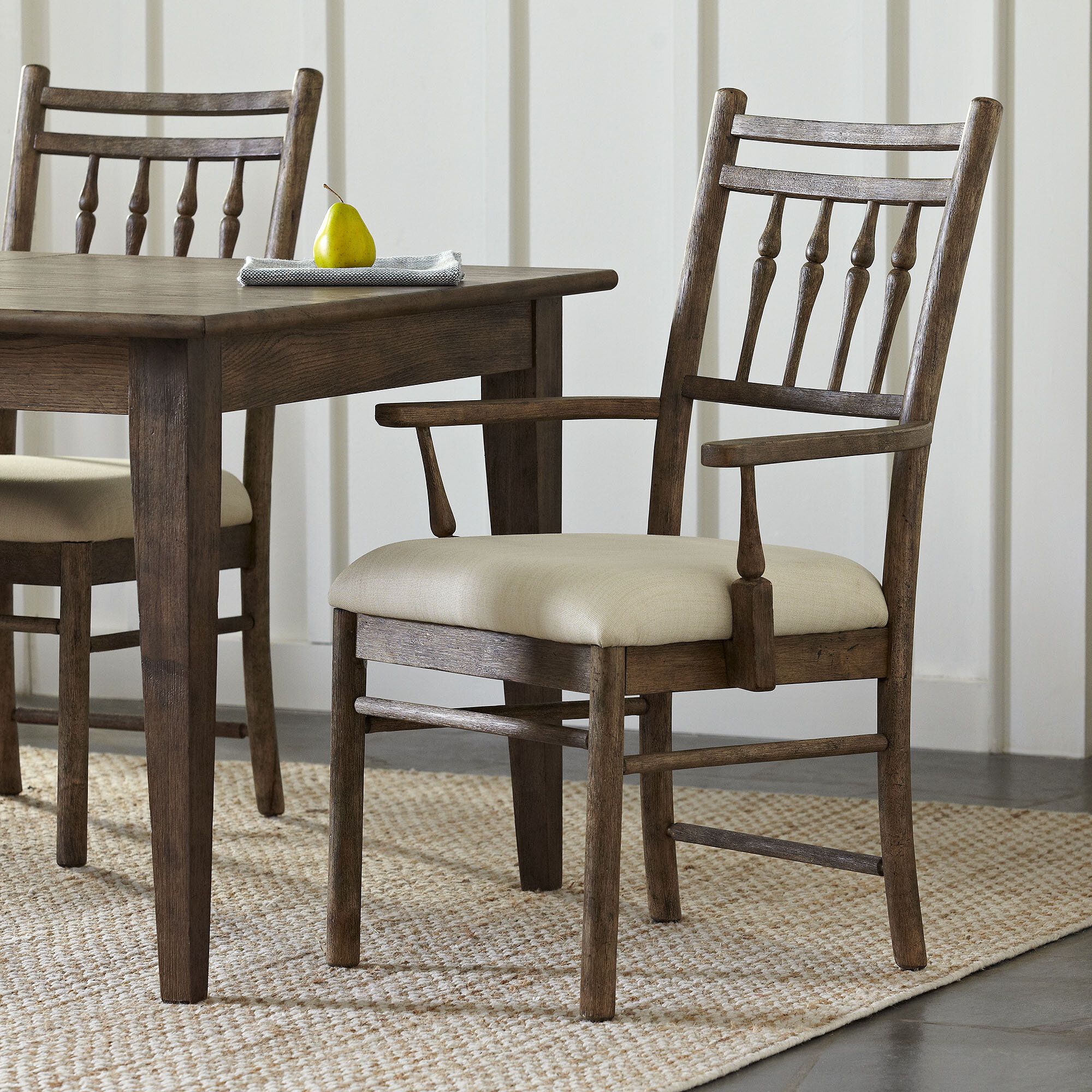 Birch LaneTM Riverbank Upholstered Dining Room Arm Chair