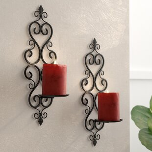 wall sconces candle holders Candle Sconces You'll Love | Wayfair wall sconces candle holders