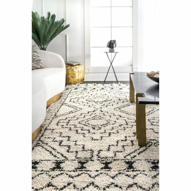 Lederer Off White Indoor Area Rug