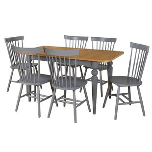Laurier 7 Piece Solid Wood Dining Set