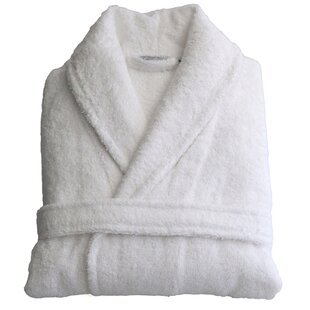 4438e9fe1a Eulalia 100% Turkish Cotton Terry Cloth Bathrobe