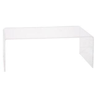 Cool Brantlee Acrylic Tall Coffee Table With Tall Coffee Table