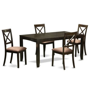 Lynfield 5 Piece Dining Set by East West Furniture