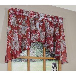 Alburtis Flounce Curtain Valance
