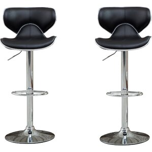 harlow adjustable height swivel bar stool set of 2