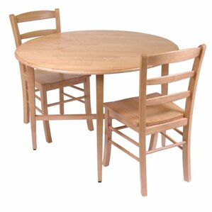 Hannah 3 Piece Dining Set by Luxury Home