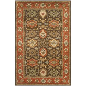 Hebron Brown Area Rug