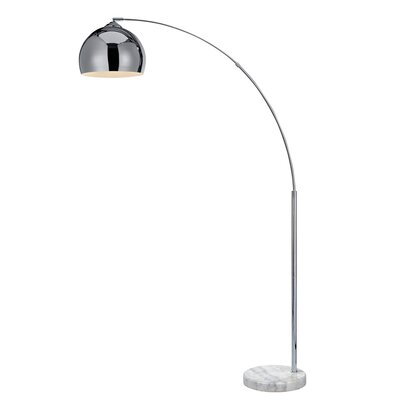 Langley street hyannis 655 floor lamp reviews wayfair arquer 6693 arched floor lamp aloadofball Image collections
