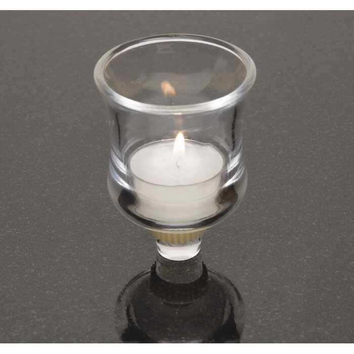 Glass Votive Candle Holder With Peg