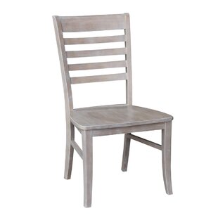 Dorsey Gray Solid Wood Dining Chair (Set of 2)