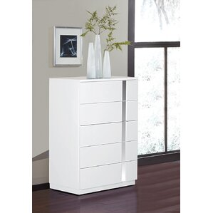 Jody 5 Drawer Chest by Global Furniture USA