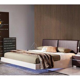 Canas Upholseterd Platform Bed